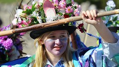 Faces at the Swanage Folk Festival - Dorest  (54) (Richard Collier - Wildlife and Travel Photography) Tags: dorset swanage swanagefolkfestival people morrisdancers