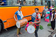 Drummers - DSC_0393 (John Hickey - fotosbyjohnh) Tags: 2016 holidays october2016 nikon nikond5100 delhi india tourism visitors traveldepartment