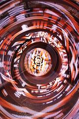 Freehand addressable culvert test (- Hob -) Tags: lightpainting longexposure singleexposure underground culvert ouseburn byker newcastleupontyne led orb spiral addressable diylighttool testing nophotoshop nopostprocessing sooc 9183