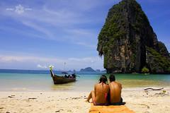 Railay Beach (Almu_Martinez_Jiménez) Tags: thailand tailandia smile land paraíso viaje summer 2014 krabi bangkok chiang mai paz buda people canon travel lonelytravel