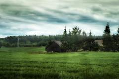 Auf dem Land - In the countryside (Jutta M. Jenning) Tags: weide wiese scheune scheunen land farm acker aecker wiesen weiden landschaft natur farmland nature himmel huette huetten baum baeume feld