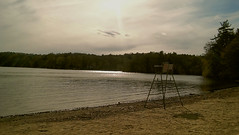 Landscape (iluvgadgets) Tags: landscape lake water intothesun beach chair