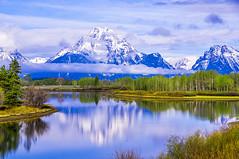 Mt. Moran (terry9567mac) Tags: grandtetonnationalpark nationalpark reflections spring wyoming mountians reflection
