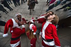 DSC_1000 (critter) Tags: santacon2016 santacon santa bean cloudgate millenniumpark christmas pubcrawl caroling chicago chicagosantacon artinstituteofchicago