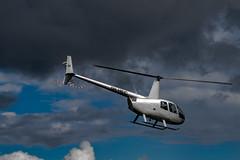 OH-HEC (Jori Samonen) Tags: helicopter sky cloud helikopterikeskus robinson r44 astro helsinkimalmi airport malmi helsinki finland sony ilce3000 e 1855mm f3556 oss