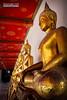 Culte Bouddhiste (CH-Romain) Tags: thailand temple culte cult bouddhisme bouddiste bouddhist bangkok asie asia asiatique thai thailandais bouddha statue or