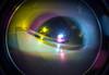 Multiple exposure of hallway mirror (rpennington9) Tags: lomo lomography lomographic lomofisheye fisheye mirror lomofisheye2camera llomofisheyeiicamera mirrors multipleexposure colorsplashflash film 35mm kodak kodakultramaxfilm iso400