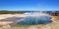 Abyss Pool - Yellowstone (zgrial) Tags: abysspool hotspring westthumbgeyserbasin yellowstone nationalpark landscape geology geothermal yellowstonelake wyoming usa zgrial