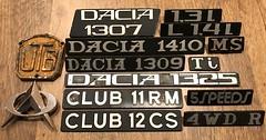 Package from Romania #4 (baga911) Tags: dacia oltcit utb aro utos oltena 1307 1410 1309 1325 1320 club 11 rm 12 cs 11rm 12cs ms ti 5speeds speed speeds 5 4wdr 4wd r 13l l 14l car tractor uap uzina de autoturisme pitești universal traktoren brasov citroën renault axel 1300 1310 tractorul brașov romania traktor oraşul stalin emblem badge emblema sigla znak merkki logo insignia insignie embléma felirat collection collector pickup
