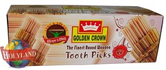 Tooth Picks 10x350 (holylandgroup) Tags: canned fruit vegetable cannedfruit cannedvegetable nonveg jalapeno gherkins soups olives capers paneer cream pulps purees sweets juice readytoeat toothpicks aluminium pasta noodles macroni saladoil beverages nuts dryfruit syrups condiments herbs seasoning jams honey vinegars sauces ketchup spices ingredients
