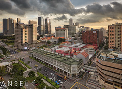 Frame of Goodbye (draken413o) Tags: singapore rochor bugis architecture city cityscapes skyline sunset asia travel destinations urban places scenes vertorama canon 5dmarkiv 1635 f28 mk2
