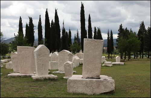 2013 S 1922 BudMeđ_14 Radimlja Stećak necropolis 5234 GoogleMaps