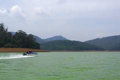 Speedboat at Pykara Lake (code_martial) Tags: d7100 1685mmf3556gvr pykara lake pykaralake boating speedboat