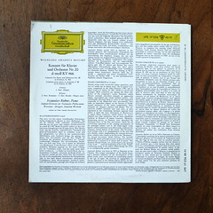 Backside Mozart - Piano Concerto No.20 KV466 - Sviatoslav Richter Piano, Nat. Phil. SO, Stanislav Wislocki, DGG LPE 17 226, 10 inch, 1963 (Piano Piano!) Tags: lp record album disc langspielplatte grommofoon plaat 12 inch art cover sleeve hulle disque vynil vinyl mozartpianoconcertono20kv466sviatoslavrichterpiano natphilso stanislavwislocki dgglpe17226 10inch 1963