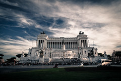 PIAZZA VENEZIA (cinotosi) Tags: rome rom vatican collosseum vatikan papst pope church stpeter petersplatz circusmaximus museivaticani