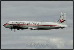 N6174C Northern Air Cargo (Bob Garrard) Tags: n6174c northern air cargo douglas dc6a dc6 flying tigers n34959 everts anc panc