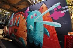 Nicolas Barrome Forgues + JSPZ_5523 boulevard Saint Jacques Paris 13 (meuh1246) Tags: streetart paris nicolasbarromeforgues jsp boulevardsaintjacques paris13 camion animaux oiseau