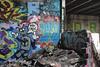 Naked, Oc (NJphotograffer) Tags: graffiti graff new jersey nj newark abandoned building urban explore shortys diy skatepark naked adhd crew oc mhs