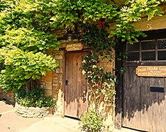 Park House Cottage! (springblossom3) Tags: cottage cotswolds architecture stonework wisteria climber plant nature door doorway