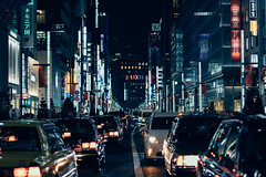 Ginza Dystopia (pseudonoise) Tags: japan ginza bladerunner dystopia night future