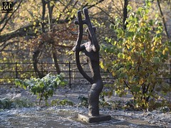 The Psalmist (1974) Benno Schotz. Image: C21 Troy (Internet & Digital) Tags: thepsalmist 1974 bennoschotz c21troy brass bronze penis pagan sculpture willy treeart greenman spirit forrest grove kelvin park phallus modern ancient idmedia internetanddigitalcom