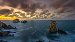 Chasing clouds (TanzPanorama) Tags: seascape water waterscape rockformation rock spain cantabria cantabriansea bayofbiscay tanzpanorama sonya7ii fe1635mmf4zaoss sel1635z variotessartfe1635mmf4zaoss sonyilce7m2 sony travel clouds le haidaprond30 10stopndfilter haidaprond1000 waves horizon twilight landscape costaquebrada arnia liencres stack seastack cloud chasing