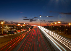 Going Home (DaveWilliams) Tags: north circular road stales corner flyover brent cross london londonist traffic dusk