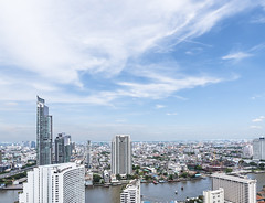 Bangkok Cityscape with Skyline, Building, and Chaopraya River for Business Background (kanidsorn_tom) Tags: downtown thailand business condominium skyline city sky background road landscape cityscape skyclouds skybackground skylinecity skylinecitybangkok bangkokthailand skylineday skylinemorning blueskyclouds blueskywithclouds blueskybackground blueskybackgrounds blueskyandclouds blueskywithcloudsbackground cityskyline cityscapes cityatday citylandscape bangkoklandscape bangkokcityscape asiancityscape building buildings buildingconstruction buildingblocks skybackgroundtexture cityscapeskyline river suanluang bangkok