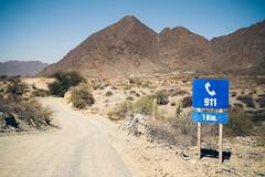 Emergency (Nuuttipukki) Tags: ruta cuarenta 40 rn40 argentina dust road roadtrip argentinien schotterpiste emergency 911 sign notruf salta travel