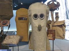 UK - London - Lambeth - Imperial War Museum - WWI gallery - Gas masks (JulesFoto) Tags: gasmasks uk england london imperialwarmuseum lambeth