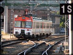 RSM-440_096_La_Robla () Tags: 440 440096 440152 azulona aafm cercanias media distancia principe pio la robla tren ferrocarril historico agujas pajares leon gijon