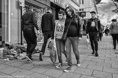 DOWN (dens_lens) Tags: candid street streetphotography brighton england