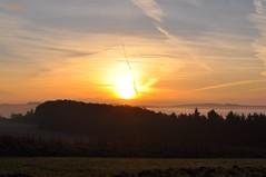 00668  Sonnenaufgang ber der Eifel (modekopp) Tags: nikond90 70300 nikon d90