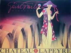 CHATEAU-LAPEYRE   Red Wine (OldAdMan) Tags: oldadman old oldadvertisements oldadverts oldposters french frenchposters vintage posters chateaulapeyre saintemilion bordeaux wineposter redwine publicity