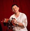 Steve Wharton (18) with concertina (allybeag) Tags: florencemine egremont cumbriansongsstories stevewharton music song dance stories poetry entertainment concertina