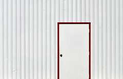 Red Frame (stu ART photo) Tags: abstract minimal red industry city urban white lines