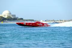 In a hurry (cal 311) Tags: boat fujifilm xt1 water sea abi dhabi