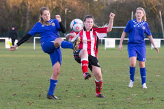 Altrincham LFC vs Stockport County LFC - December 2016-145 (MichaelRipleyPhotography) Tags: altrincham altrinchamfc altrinchamlfc altrinchamladies alty amateur ball community fans football footy header kick ladies ladiesfootball league merseyvalley nwrl nwrldivsion1south nonleague pass pitch referee robins shoot shot soccer stockportcountylfc stockportcountyladies supporters tackle team womensfootball