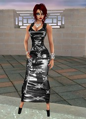 130 (SoakinJo) Tags: imvu wetlook wetclothes soakinjo highheels wetdress extremeheels