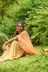 (shylendhar) Tags: fahion tradition halfsaree profile indian