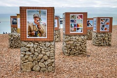 Beach Art Brighton (Nick Fewings 4.5 Million Views) Tags: portraits wire mesh stones pebbles creative different unusual 2016 december fewings nick seaside seafront beach sussex brighton exhibition street urban art photographs photography