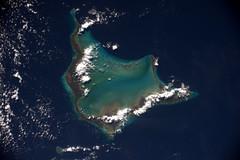 Crooked Island, Bahamas (Thomas Pesquet) Tags: island bahamas atlantic earth photography space view