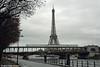 PARIS--M6-3566 xing Seine WB (milantram) Tags: electricrailtransport parismétro paris ratp subways elevateds eiffeltower riverseine rubbertiredmetros