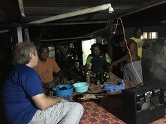 After round 3 with passing around the coconut with Kava we all got a bit dissy!