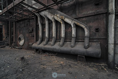 """""""Not for barbies"""" (RomarioPhotography) Tags: urbex abandoned decay nikon nikond7200 pipes rusty urban industry tokina tokina1116 hdr photoshop"""