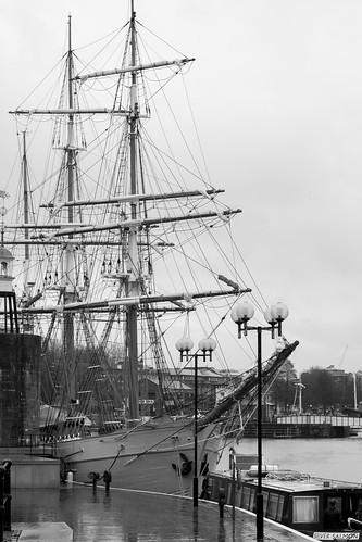 england blackandwhite bristol photography boat wooden interesting overcast sail mast