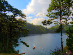 Pojoj Lake  of Montebello Lakes National Park (IQ PI) Tags: naturaleza lake nature mxico mexico lago nationalpark lagoon balsa chiapas hdr corcho parquenacional montebello lagunasdemontebello pojoj