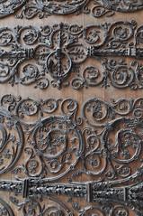Door details (sbrizio) Tags: paris france notre dame