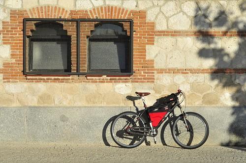 Framebag y guantera a juego con el Rohloff de una imagineyourbike.com
