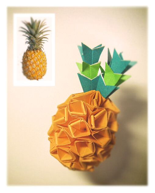 The Worlds Newest Photos Of Origami And Pineapple Flickr Hive Mind